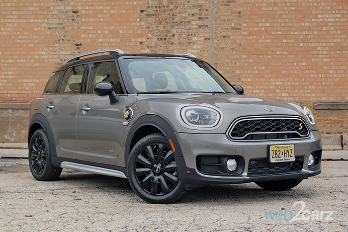2018 Mini Cooper S E Countryman All4 Plug In Hybrid Review