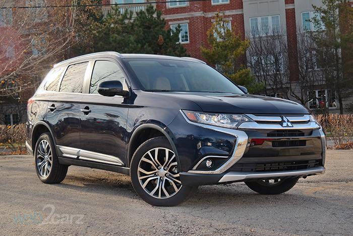 2018 Mitsubishi Outlander 2.4 SEL S-AWC Review