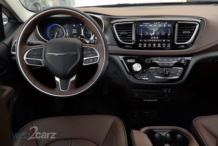 2018 Chrysler Pacifica Limited Review Web2carz
