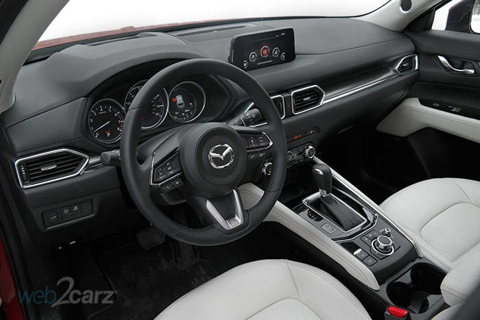 2018 mazda cx 5 grand touring review web2carz. Black Bedroom Furniture Sets. Home Design Ideas
