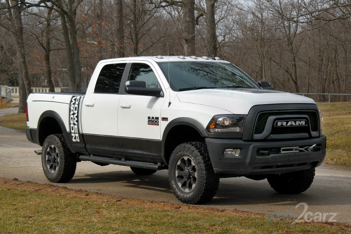 2018 Ram Power Wagon Crew Cab 4x4 Review