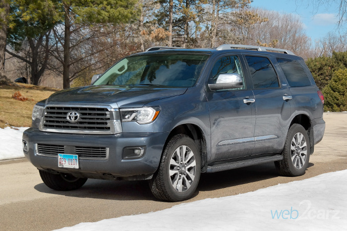 2018 toyota sequoia 4x4 limited review web2carz. Black Bedroom Furniture Sets. Home Design Ideas