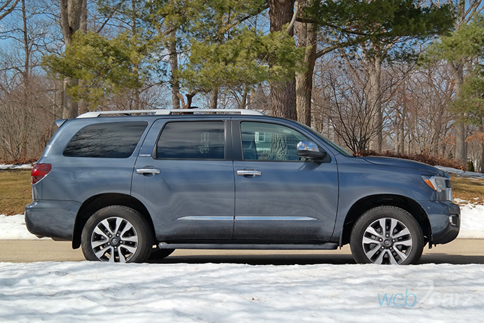 2018 toyota sequoia 4x4 limited review. Black Bedroom Furniture Sets. Home Design Ideas