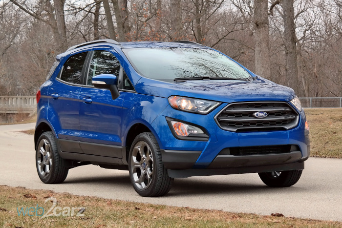 2018 Ford EcoSport SES 4WD Review