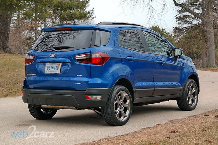 2018 Ford EcoSport SES 4WD Review | Web2Carz