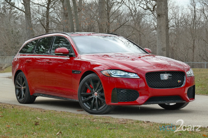 2018 Jaguar XF Sportbrake S AWD Review