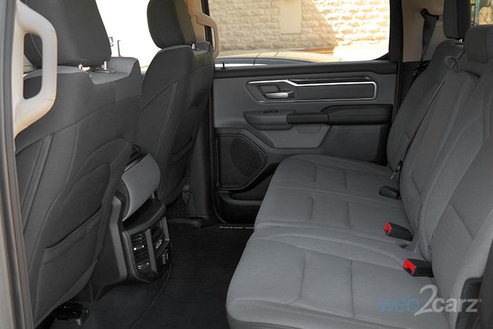 Ram Ram Pickup Big Horn Rear Seats X on Dodge Big Horn Interior