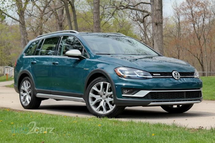 2018 Volkswagen Golf Alltrack Sel 4motion Review