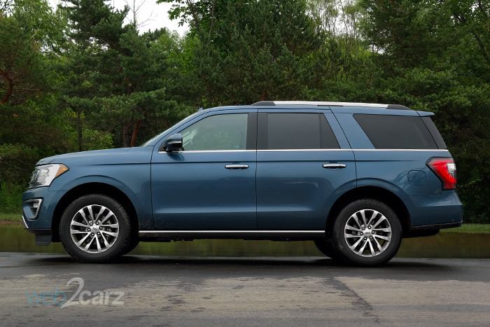 2018 Ford Expedition Limited 4x4 Platinum Review | Web2Carz