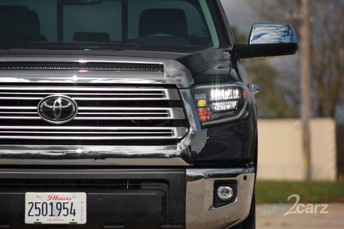 2019 Toyota Tundra Limited Double Cab 4x4 Review | Web2Carz