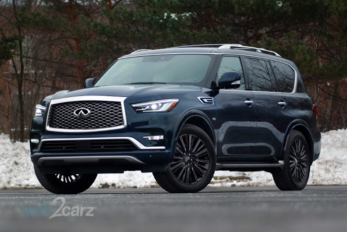 2019 Infiniti QX80 Limited 4WD Review | Web2Carz