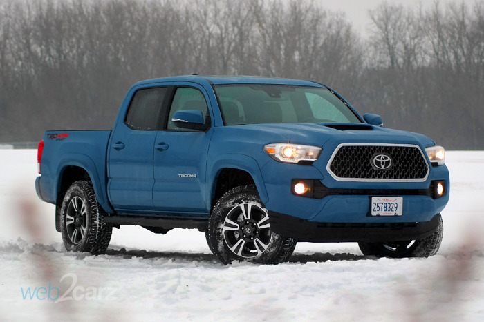 2019 Toyota Tacoma TRD Sport Double Cab Review   Web2Carz