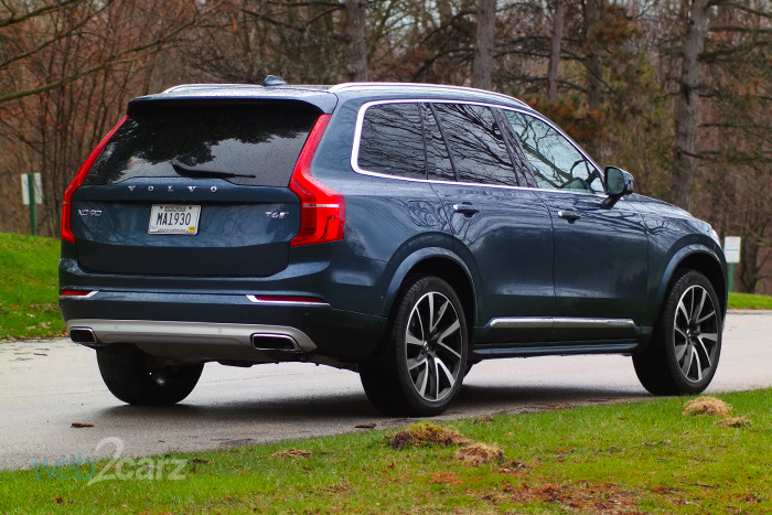 2019 Volvo XC90 T6 AWD Inscription Review | Web2Carz
