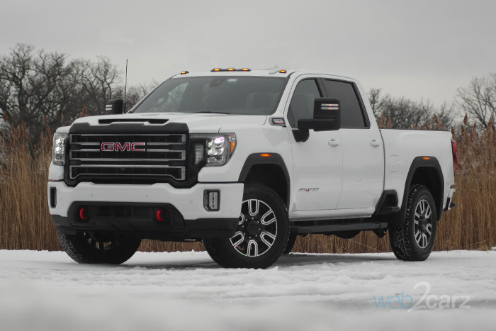 2020 gmc sierra 2500 4wd crew cab at4 review   web2carz