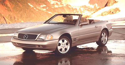 2000 Mercedes-Benz SL-Class Review Overview