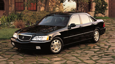 Acura Models on 2001 Acura Rl Review Overview