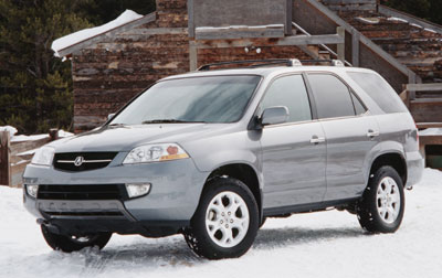 Acura  Reviews on 2001 Acura Mdx Review Overview