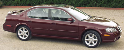 2002 Nissan Maxima Review Overview