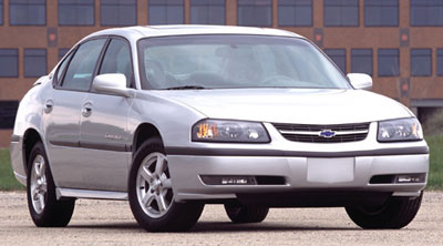 2003 Chevrolet Impala Review Overview