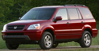 2003 Honda Pilot Review Overview