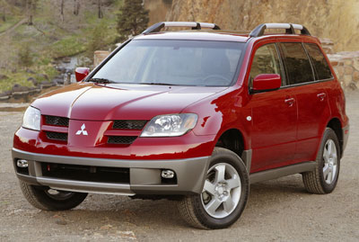 2004 Mitsubishi Outlander Review Overview