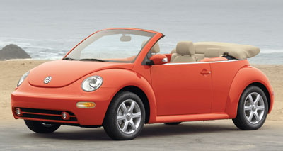 2005 Volkswagen New Beetle Review Overview
