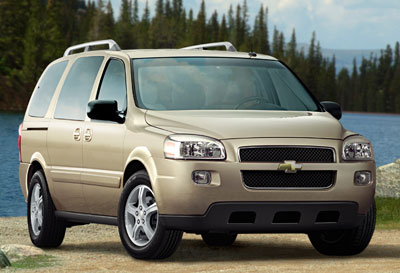 2005 Chevrolet Uplander Review Overview