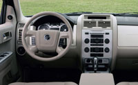 2008 Mercury Mariner Hybrid Review Interior Features