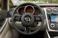 2009 Mazda CX-7 Review Interior Features