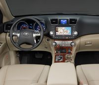 2011 Toyota Highlander Hybrid Review Interior Features