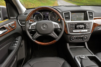 2012 Mercedes-Benz M-Class Review Interior Features