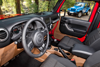 2012 Jeep Wrangler Unlimited Review Interior Features