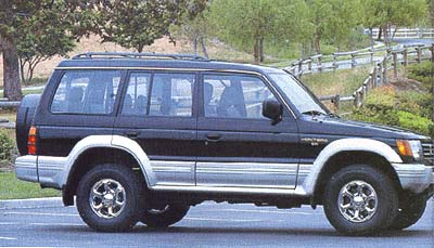 1995 Mitsubishi Montero Review Overview