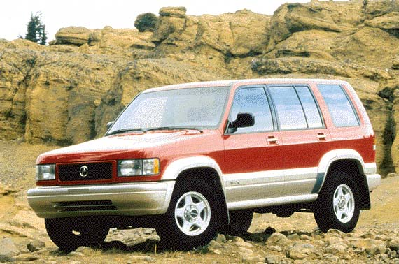 1996 Acura SLX Review Overview
