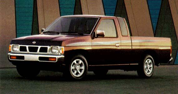 Nissan Pickup Тест-драйв Nissa…